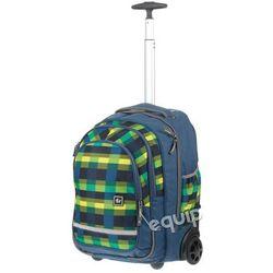 Plecak na kółkach Hama All Out Bolton - summer check green