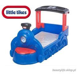 łóżko lokomotywa choo choo + materac gratis* -granatowe marki Little tikes