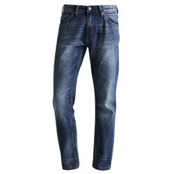 TOM TAILOR DENIM ATWOOD Jeansy Straight leg mid stone wash denim