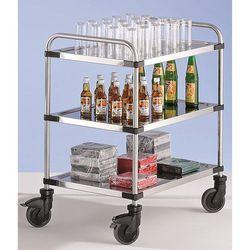 Wózek stołowy ze stali szlachetnej varithek servo+, dł. x szer. x wys. 870x570x9 marki Unbekannt