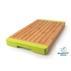Berghoff Deska do krojenia pieczywa żłobiona bambusowa 40X22X3Cm