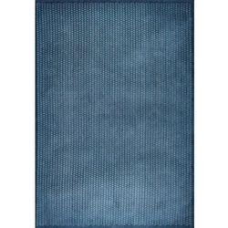 Niebieski nowoczesny połyskujący dywan Laccetti Mare, Niebieski nowoczesny połyskuj