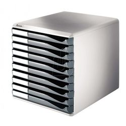 Pojemnik Leitz z 10 szufladami szary 52810089, BP1570