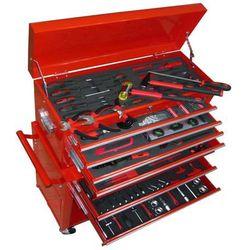 vidaXL Wózek narzędziowy ruchomy, warsztatowy 7 szuflad z narzędziami (8718475813774)