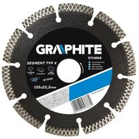 Tarcza do cięcia GRAPHITE 57H868 230 x 22 mm diamentowa + DARMOWY TRANSPORT! (5902062578686)