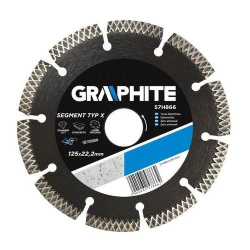 Tarcza do cięcia GRAPHITE 57H868 230 x 22 mm diamentowa + DARMOWA DOSTAWA! - oferta [954cdfa09f13f585]