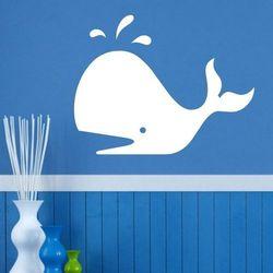 Wally - piękno dekoracji Tablica suchościeralna wieloryb 137