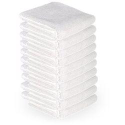 Activeshop Ręcznik z microfibry 73x40cm 10szt biały