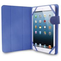 PURO Universal Booklet Easy - Etui tablet 7'' w/Folding back + stand up + Magnetic Closure (granatowy), UNIBOO