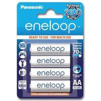 4 x akumulatorki Panasonic Eneloop R6 AA 2000mAh BK-3MCCE/4BE (blister) - produkt z kategorii- Akumulatorki