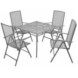 Zestaw metalowych mebli ogrodowych - Skyler 2X