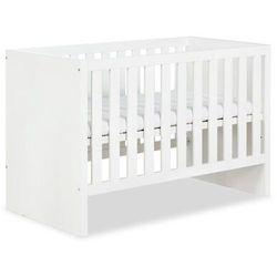 Klupś łóżeczko amelia białe z funkcją sofy 120x60cm nowość 2020 (5901912244542)