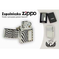 Zapalniczka Zippo Zebra High Polish Chrome z kategorii Gadżety