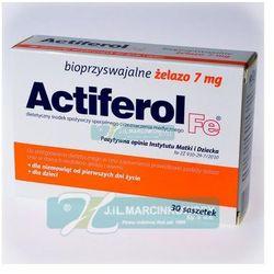 Actiferol fe 7 mg x 30 sasz z kategorii Suplementy ciążowe