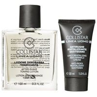 Collistar  men after-shave toning lotion m kosmetyki zestaw kosmetyków 100ml after-shave tonin lotion + 30ml