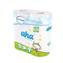 Ręcznik kuchenny AHA biały SMART op.2 rolki