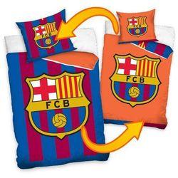 Dekoria Komplet pościeli FC Barcelona, poszwa 160x200cm, poszewka 70x80cm
