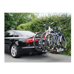Składany bagażnik na rowery  premium iii, uchwyt na hak + torba, marki Eufab