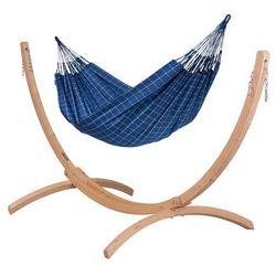 Hamaki la siesta Hamak ze stojakiem drewnianym brisa iii & canoa rodzinny