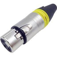 Złącze xlr  1409105 złącze, proste ilość pin: 3 srebrny 1 szt. marki Conrad components