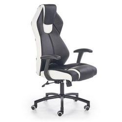 Elior.pl Fotel gabinetowy cotto - czarno - biały