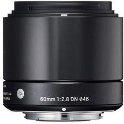 Sigma  a 60mm f/2.8 dn czarny olympus - produkt w magazynie - szybka wysyłka!, kategoria: obiektywy fotografi