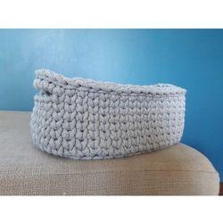 Koszyk na drobiazgi bawełniany owalny marki Rękodzieło
