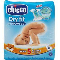 CHICCO Junior 17szt. (12-25kg) – pieluszki jednorazowe - produkt z kategorii- Pieluchy jednorazowe