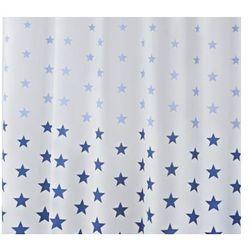 Zasłonа STARS, niebieska, 180 x 200 cm