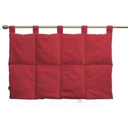 wezgłowie na szelkach, czerwony, 90 x 67 cm, quadro marki Dekoria