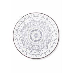 Okrągłe dywaniki łazienkowe z pianką memory bonprix szary