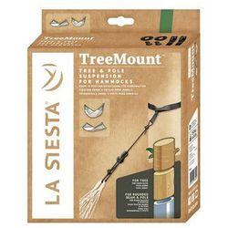 Zestaw mocujący do hamaka TreeMount Black, Czarny TMF45