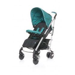 4Baby Croxx wózek spacerowy spacerówka alu NOWOŚĆ turkus - produkt z kategorii- Wózki spacerowe