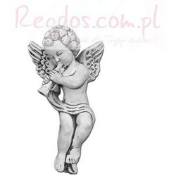 Sztukateria betonowa motyw aniołek z trąbką 27cm