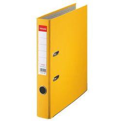 Esselte segregator a4 ekonomiczny z mechanizmem dźwigniowym 50mm, żółty