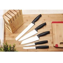 Fiskars / functional form Fiskars functional form noże kuchenne w bloku zestaw 5 sztuk