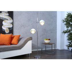Lampa podłogowa Sapone biała