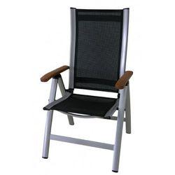 Rojaplast  krzesło ass comfort, czarne, kategoria: krzesła ogrodowe