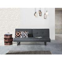Rozkładana sofa ruchome oparcie - DUBLIN szaro-niebieski (7081458125906)