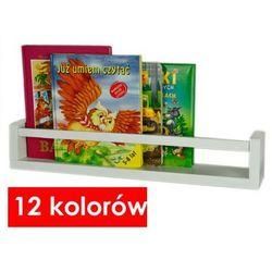 Półka na zabawki liptos 80 cm - 12 kolorów marki Producent: elior