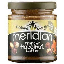 Chrupiące masło z orzechów laskowych 170g od producenta Meridian foods