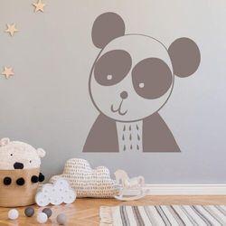 Wally - piękno dekoracji Szablon malarski dla dzieci panda 2492