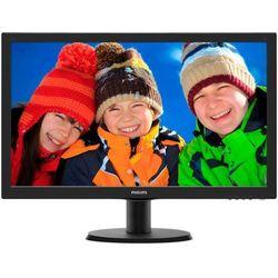 243V5LHSB marki Philips - monitor LED