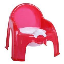 Krzesełko nocnik ciemny róż - Ciemnoróżowy