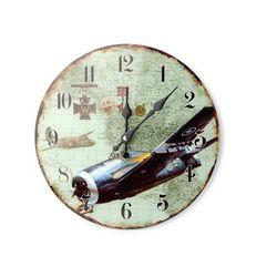 Home Zegar ścienny samolot myśliwiec p-47 thunderbolt