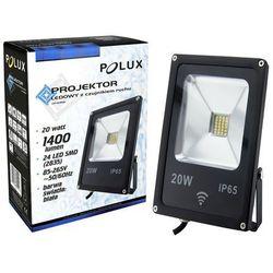 Projektor led 20w ip65 czujnik ruchu marki Polux