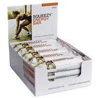 Squeezy Energy Bar 20szt x 50g (owocowy) - pudełko z 20 batonami energetycznymi