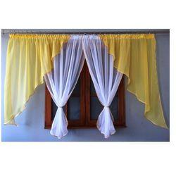 Gotowa firanka 150x400 do sypialni kuchni salonu marki Kasandra