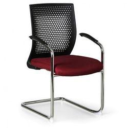 B2b partner Krzesło konferencyjne amenities, czerwone