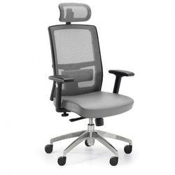 Krzesło biurowe Ned MF, szary